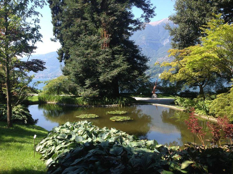 Villa Melzi gardens in Bellagio