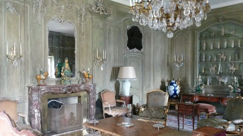 Interiors of Villa Balbianello, Lake Como