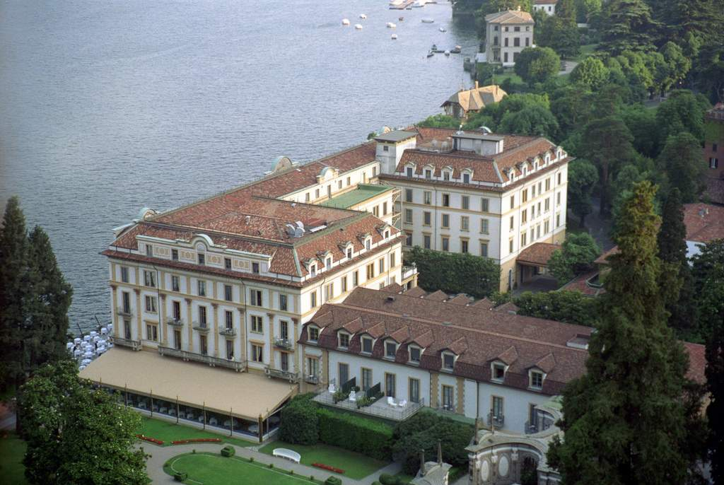 Villa d'Este and the English-style park