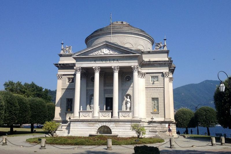 Volta museum in Como, Italy