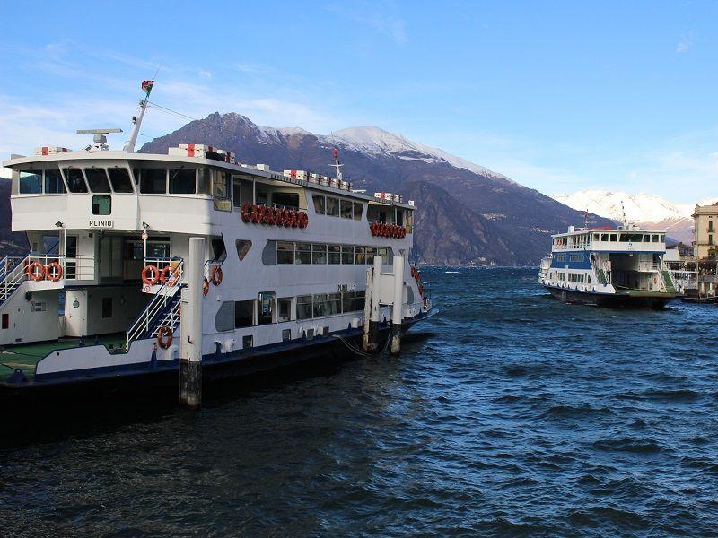 Lake Como's ferries