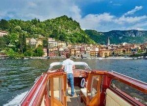 Boat tours in Varenna, Lake Como