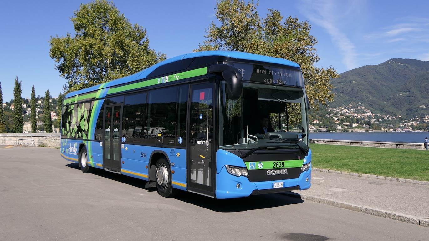 Lake Como bus