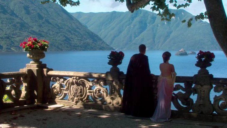 Anakin Skywalker and Padmé Amidala at Villa Balbianello!