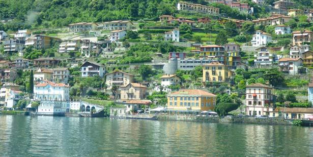 Argegno coast
