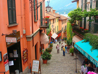 Bellagio town center, Italy
