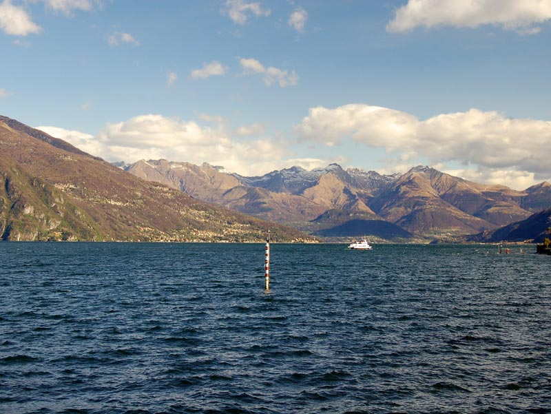 Bellagio, Italy: view from Punta Spartivento
