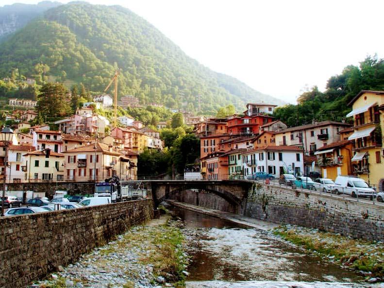 The Roman Bridge in Argegno