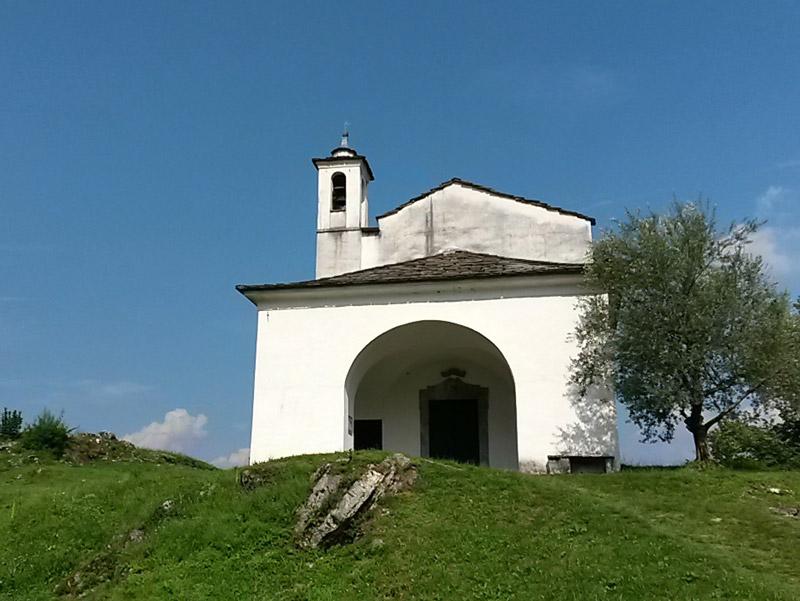 Ancient Church Isola Comacina Lake Como
