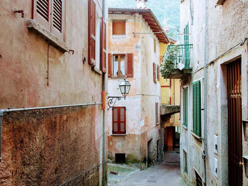 Argegno town center, Lake Como