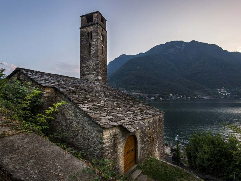 Church San Martino, Nesso