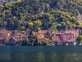 Lake Como's towns