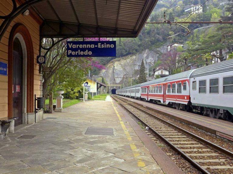 Zugverbindung auf dem Comer See