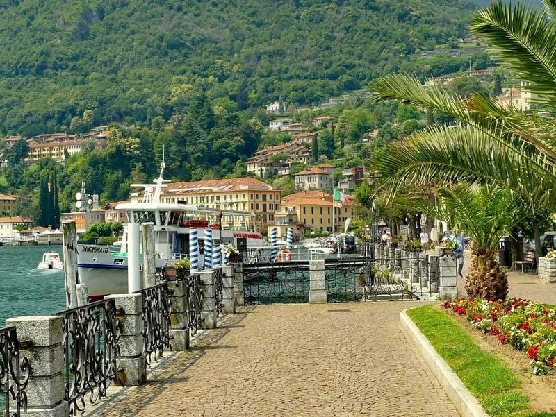 Lake promenade of Menaggio