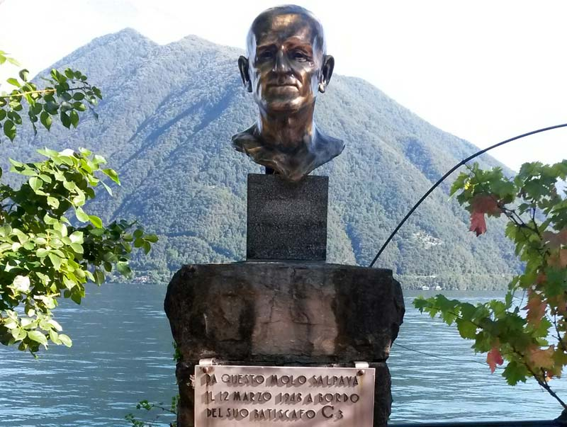 The bust of Pietro Vassena, Argegno