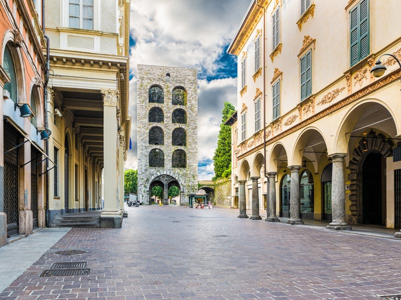 Como, Italy: Porta Torre