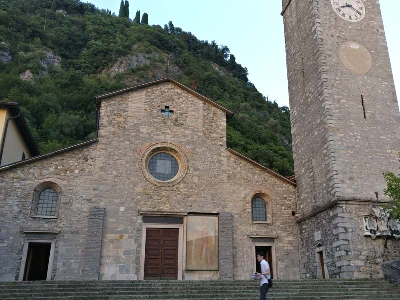 Varenna, Italy | Church of San Giorgio