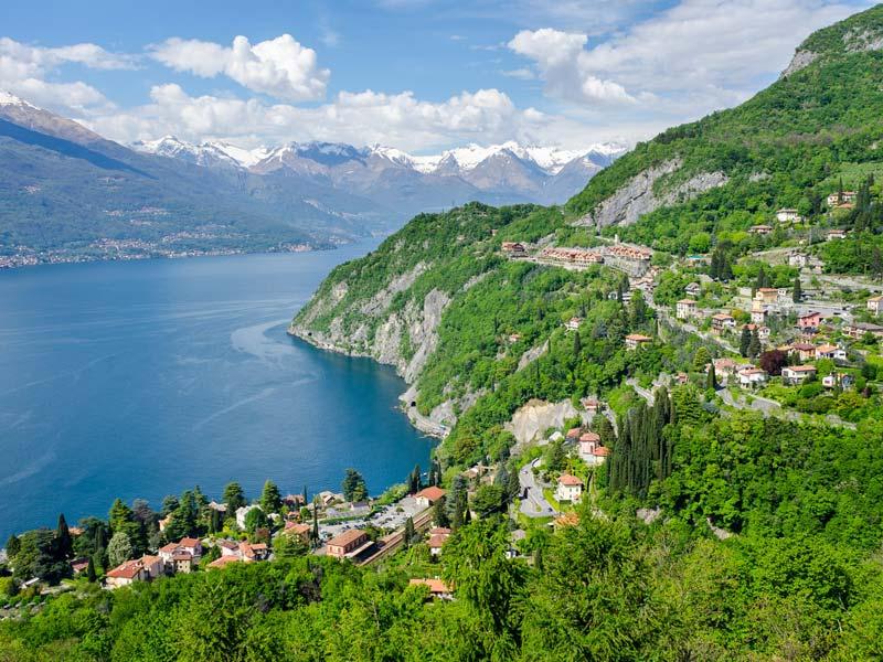 Breathtaking view from Sentiero del Viandante