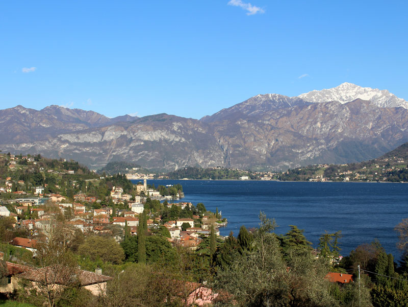 A view of the Lake from Mezzegra
