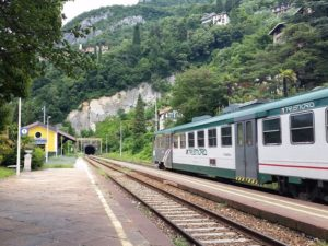 Train from Milano Centrale to Varenna