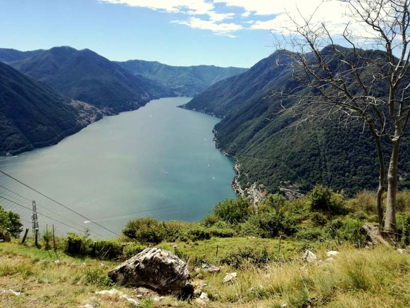 View of Lake Como from Pigra