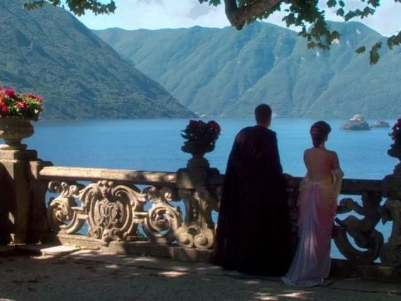 Anakin Skywalker and Padmé Amidala at Villa Balbianello!