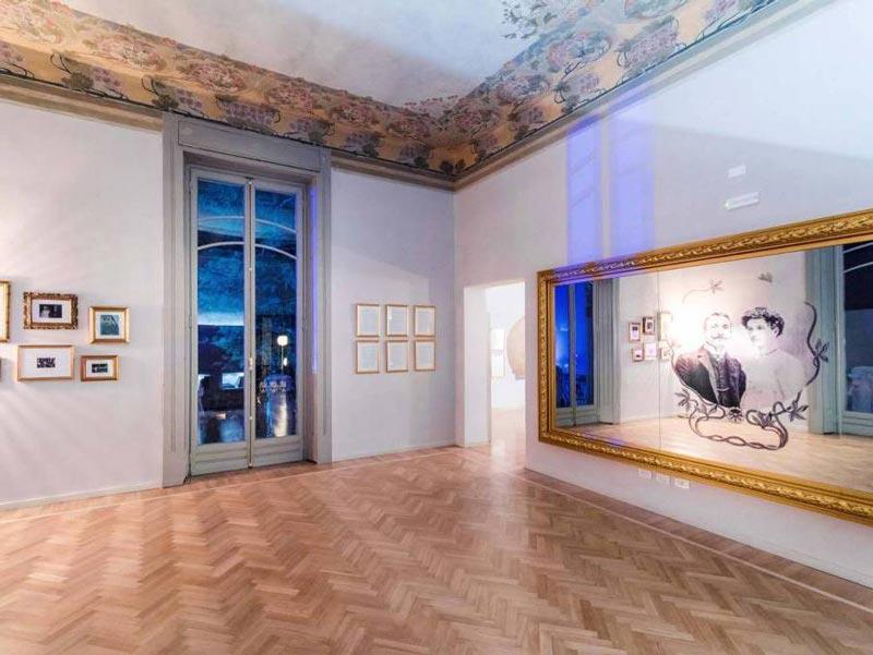 Interiors of Villa Bernasconi, Lake Como