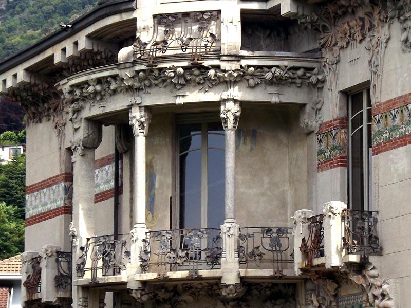 Balcony of Villa Bernasconi, Lake Como