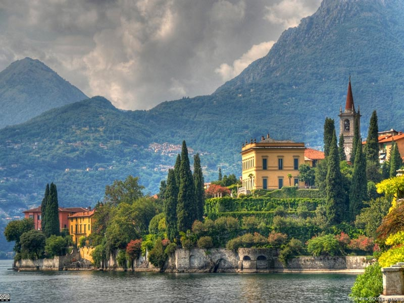 Villa Cipressi surrounded by secular trees (picture: MyLakeComo.co)