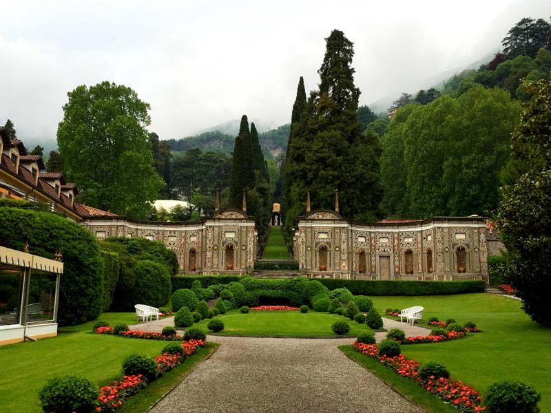 The English gardens of Villa d'Este