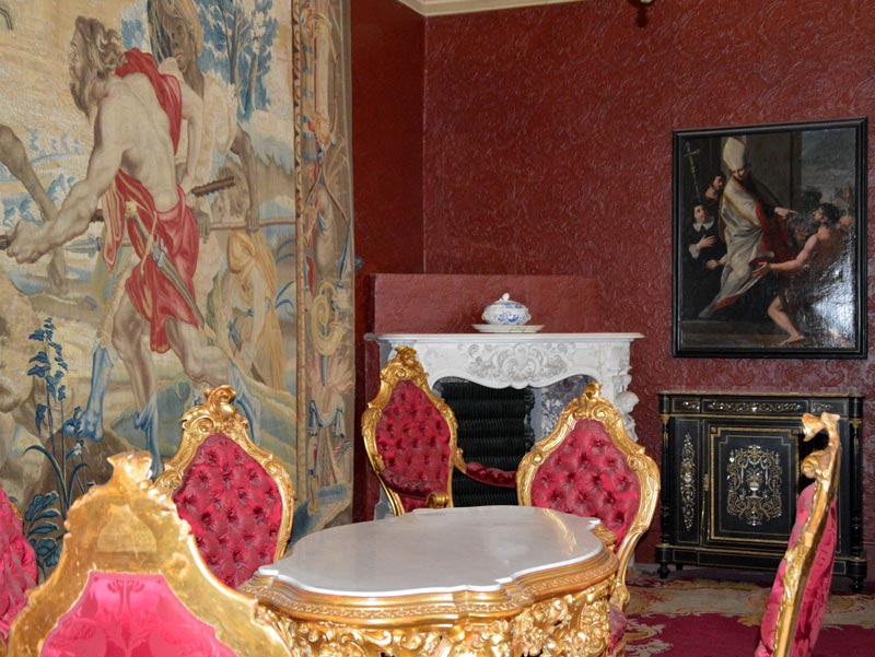 Interiors of Villa Monastero