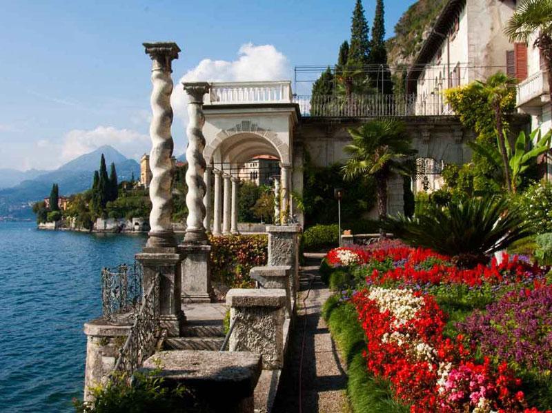 Die atemberaubenden Gärten der Villa Monastero (Bild: gardendestinations.com)