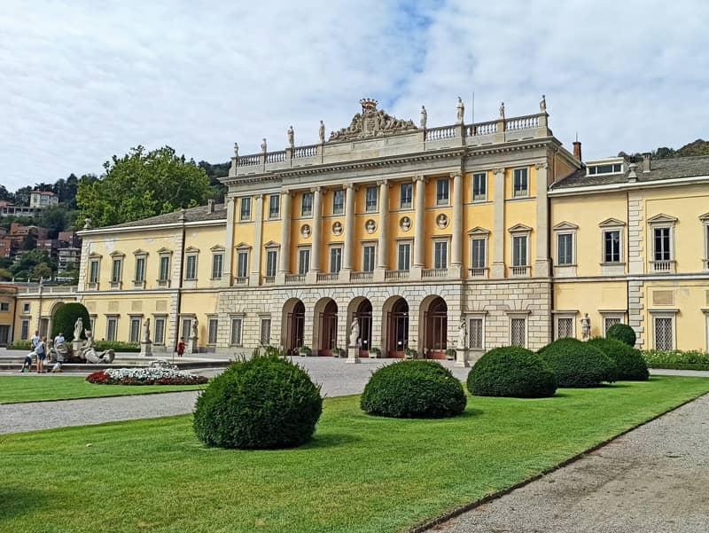 Como, Italy: Villa Olmo