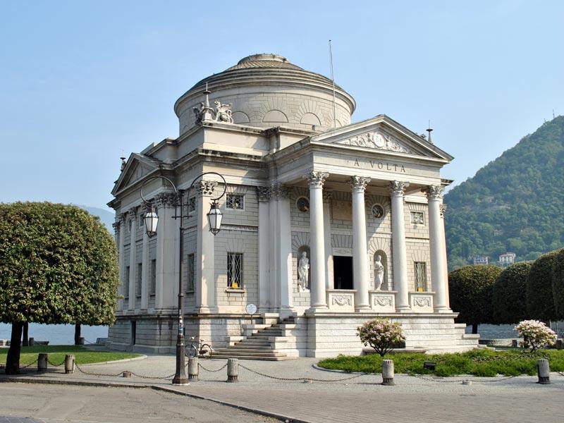Como, Italy: Volta museum