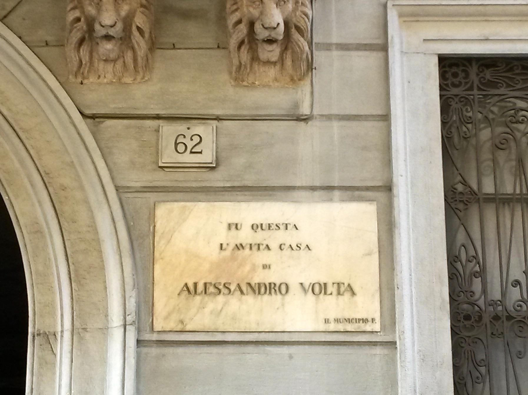 Alessandro Volta's House, Como