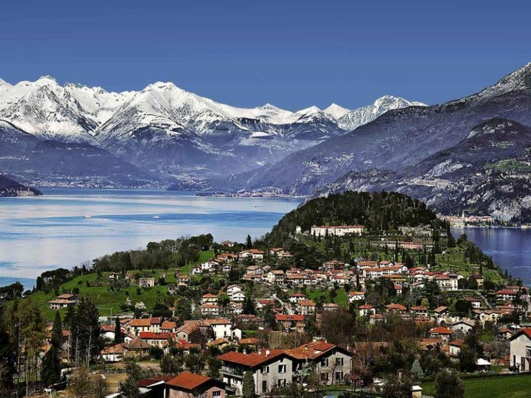 Lake Como in Winter: the magical atmosphere of snow on the lake