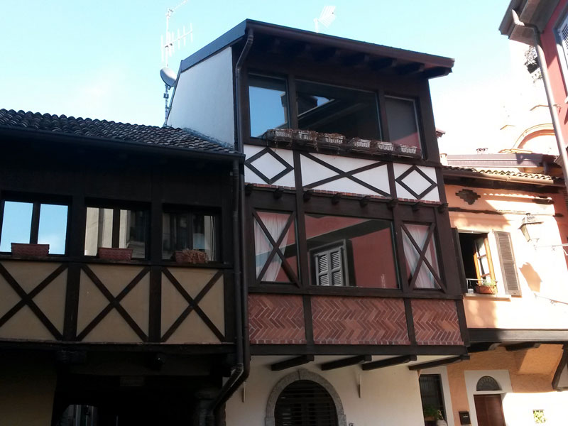 A beautiful house in the town center