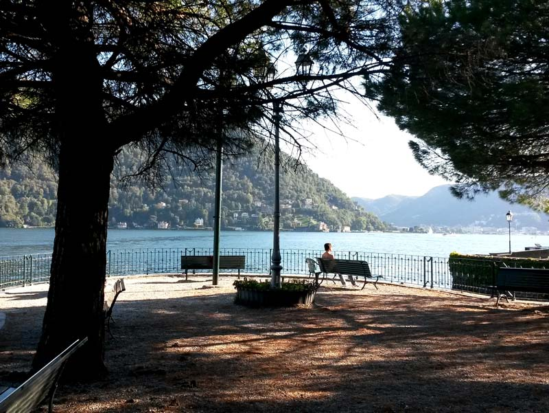 Cernobbio, Italy | Tip of Riva di Cernobbio