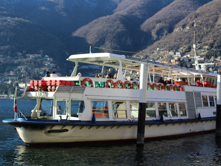 Motorship | Boat trips on Lake Como