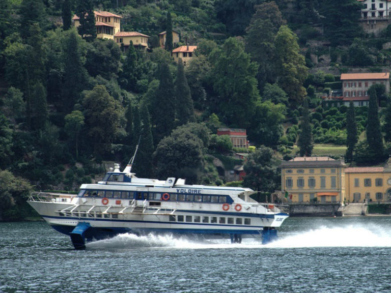 Hydrofoil | Boat trips on Lake Como