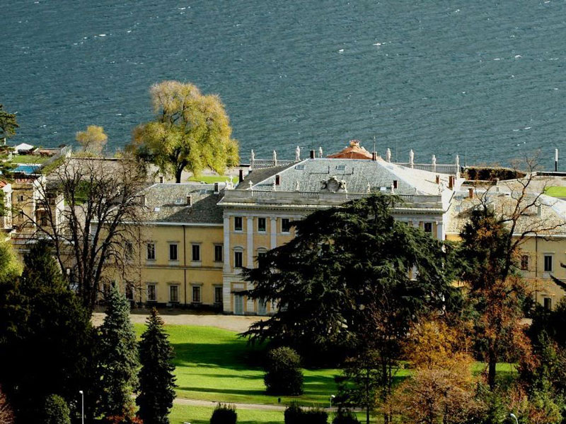 A view of Villa Olmo and its English-style gardens (picture: villaolmocomo.it)