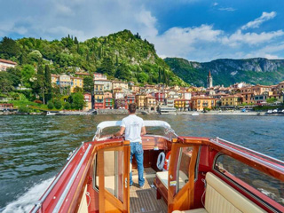 Private boat tours on Lake Como