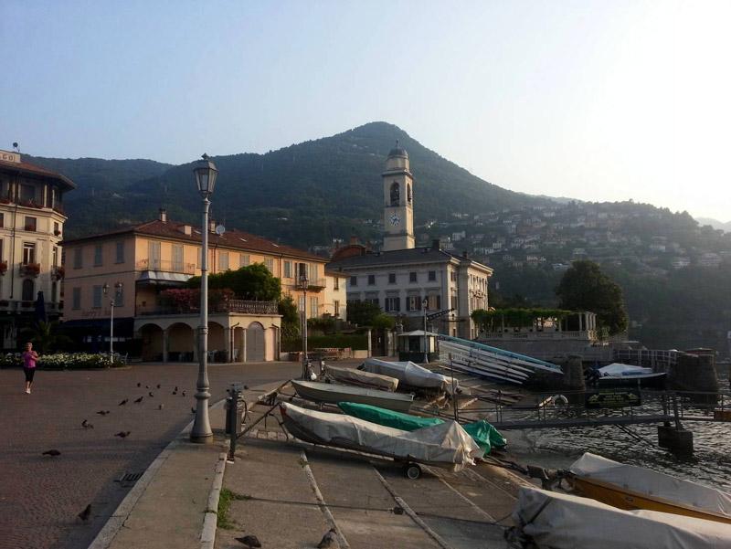 Cernobbio lakefront, Italy