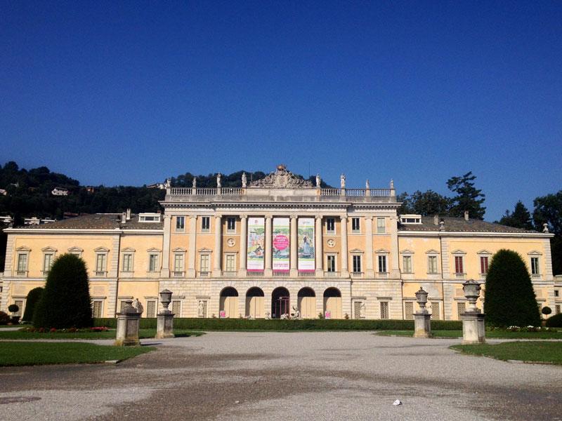 Facade of Villa Olmo, Lake Como