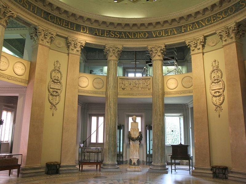 Volta Museum interiors, Como