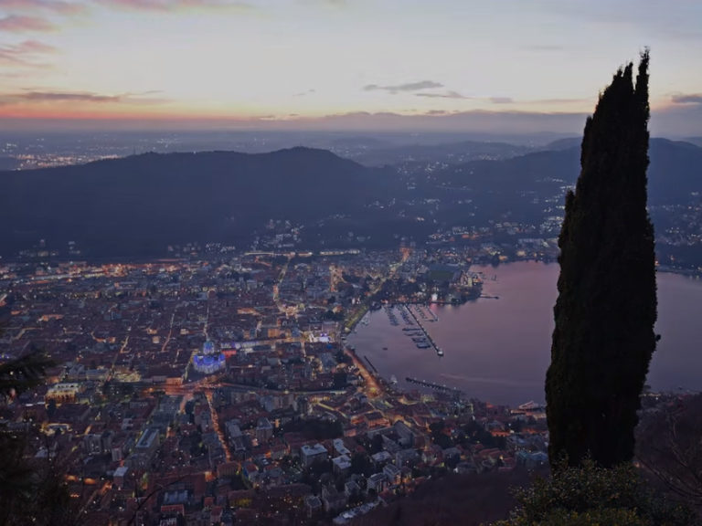 90 seconds to fall in love with Como