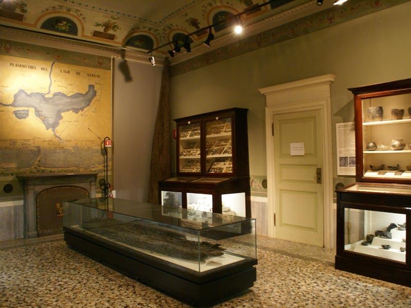 Interiors of Paolo Giovio Museum, Como