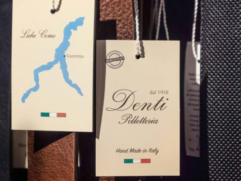Pelletteria Denti: more than just Italian leather