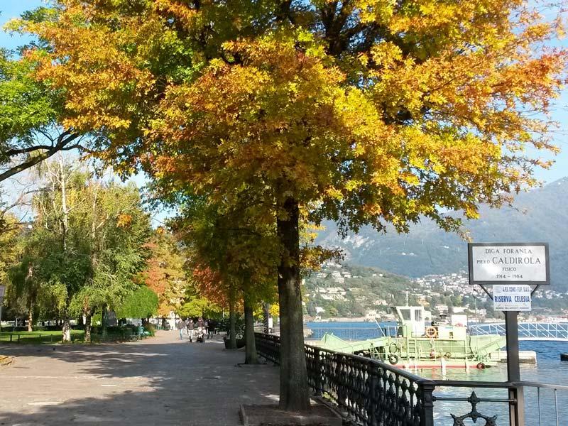 Lake Como in Autumn