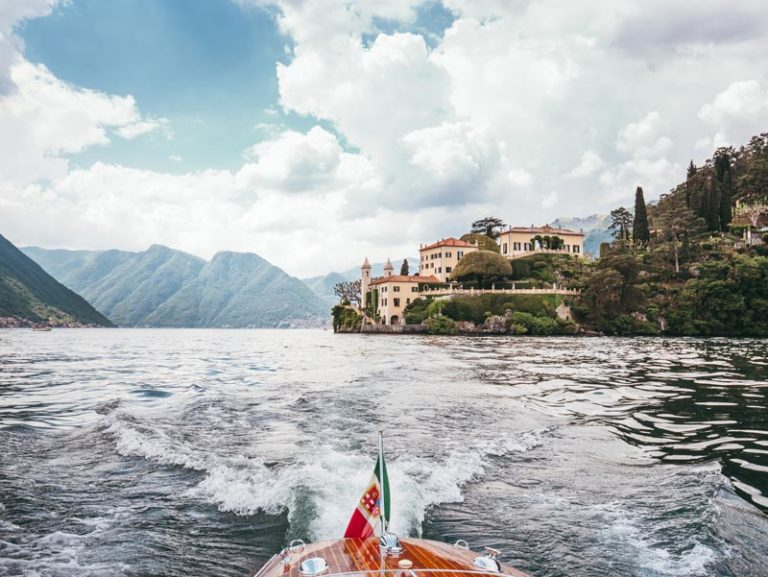 Riva Ariston und Villa Balbianello